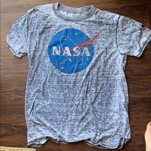 NASA graph NASA graphic tee size large (unisex)
